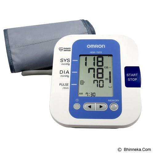 harga OMRON Arm Blood Pressure Monitor [HEM-7203] Bhinneka.Com